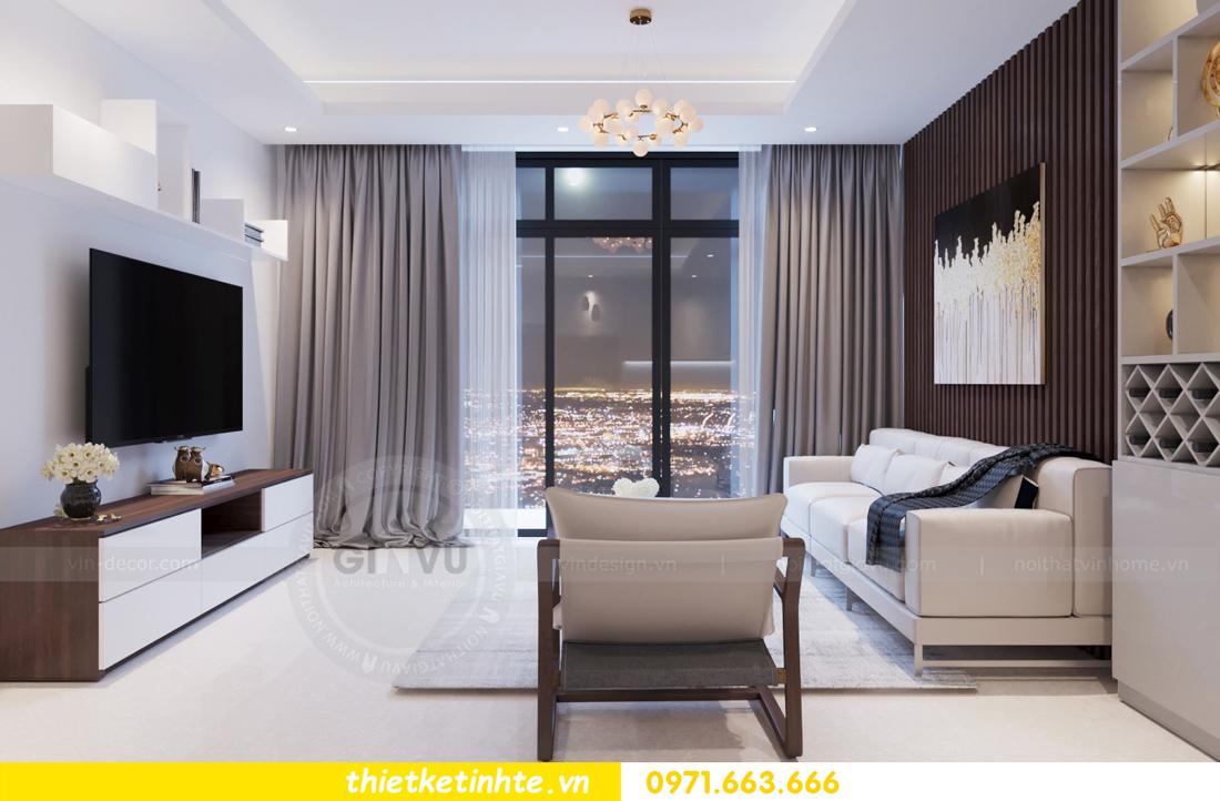 thiết kế nội thất chung cư 69B Thụy Khuê tòa S2 - 1105 anh Thanh 04
