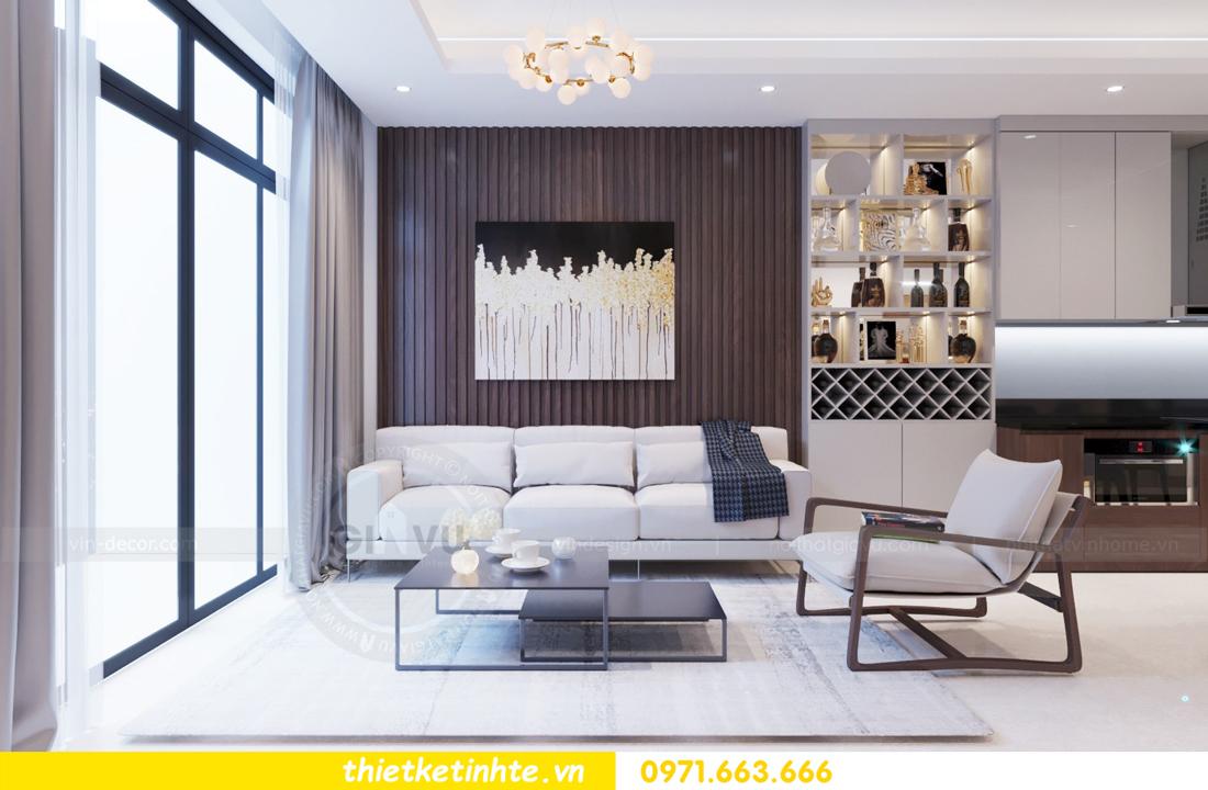 thiết kế nội thất chung cư 69B Thụy Khuê tòa S2 - 1105 anh Thanh 05