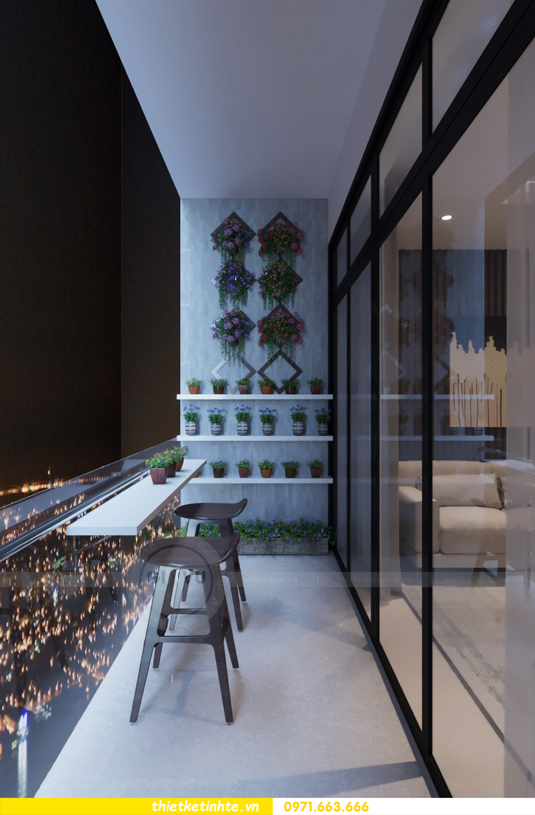 thiết kế nội thất chung cư 69B Thụy Khuê tòa S2 - 1105 anh Thanh 06