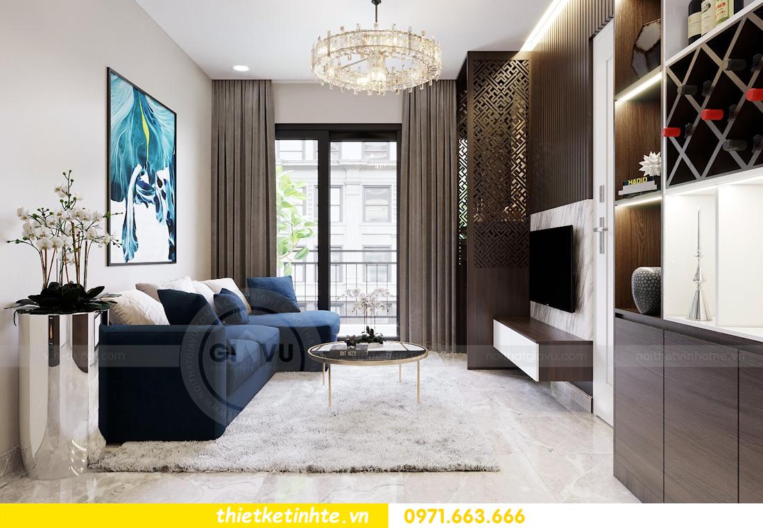 thiết kế thi công nội thất chung cư D Capitale C1 07 nhà cô Quý 01