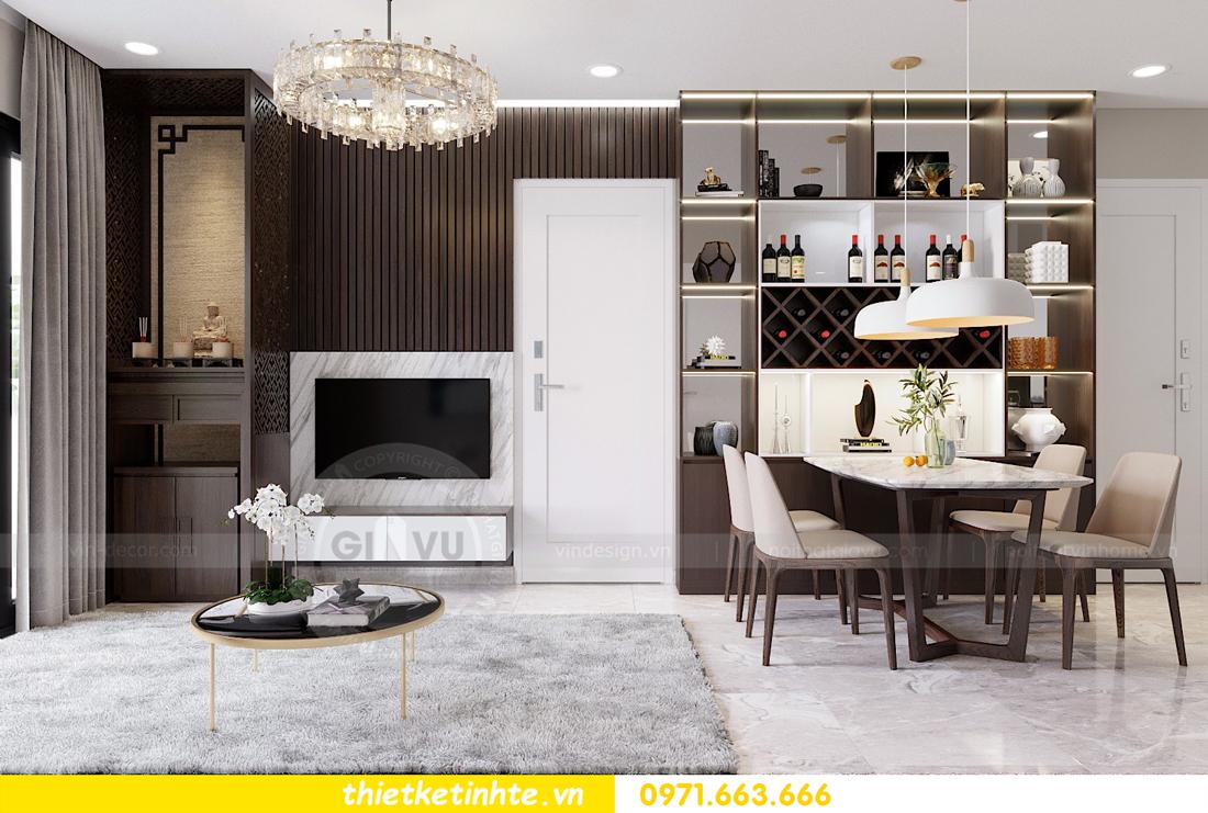 thiết kế thi công nội thất chung cư D Capitale C1 07 nhà cô Quý 02