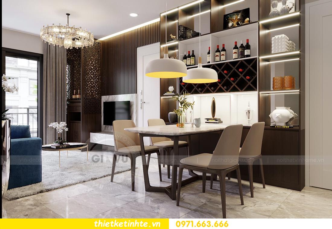 thiết kế thi công nội thất chung cư D Capitale C1 07 nhà cô Quý 03