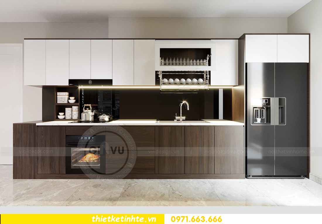 thiết kế thi công nội thất chung cư D Capitale C1 07 nhà cô Quý 04
