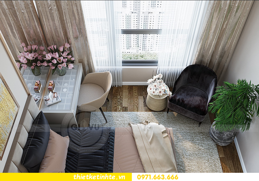 thiết kế thi công nội thất chung cư Gardenia tòa A2 căn 0903 View 10