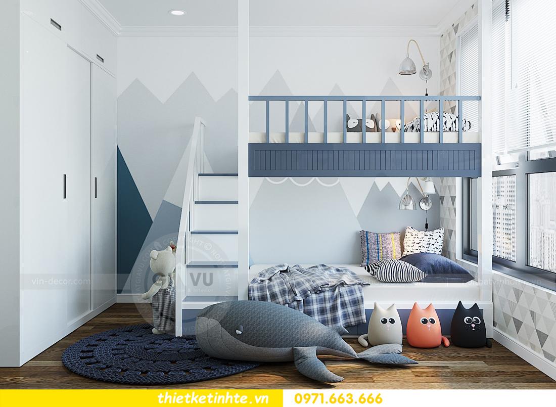 thiết kế thi công nội thất chung cư Gardenia tòa A2 căn 0903 View 11