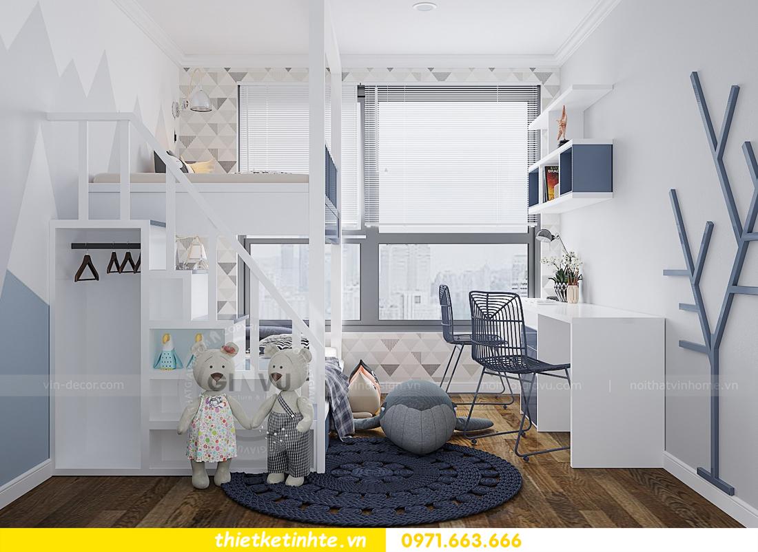 thiết kế thi công nội thất chung cư Gardenia tòa A2 căn 0903 View 12