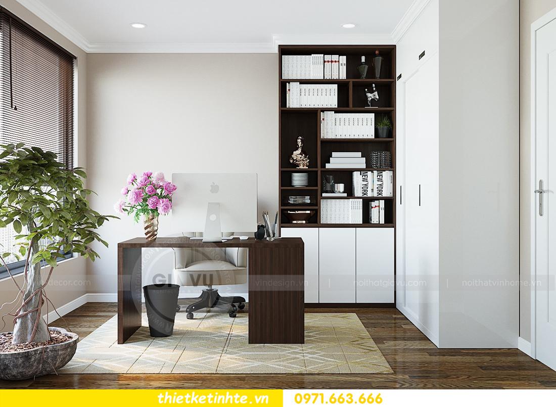 thiết kế thi công nội thất chung cư Gardenia tòa A2 căn 0903 View 13