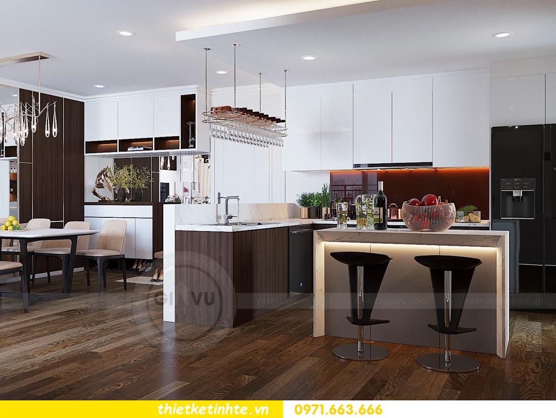 thiết kế thi công nội thất chung cư Gardenia tòa A2 căn 0903 View 3