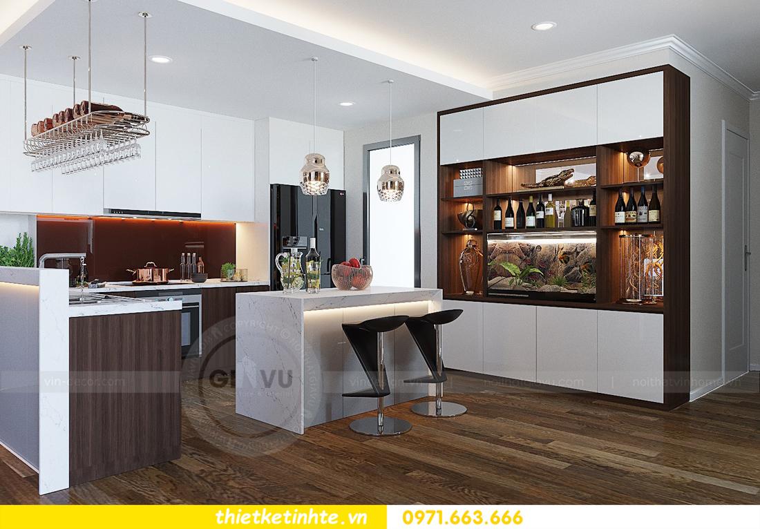 thiết kế thi công nội thất chung cư Gardenia tòa A2 căn 0903 View 4