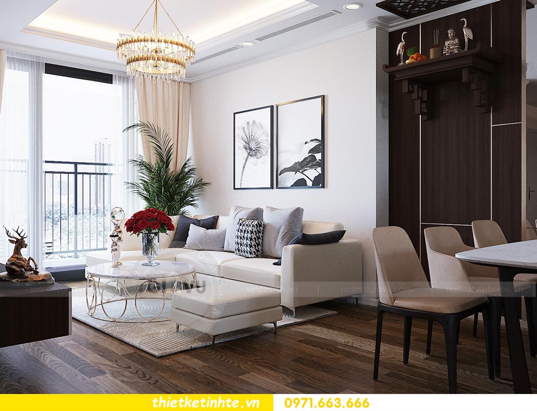 thiết kế thi công nội thất chung cư Gardenia tòa A2 căn 0903 View 5