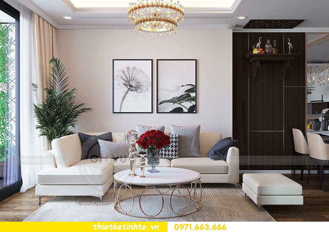 thiết kế thi công nội thất chung cư Gardenia tòa A2 căn 0903 View 6
