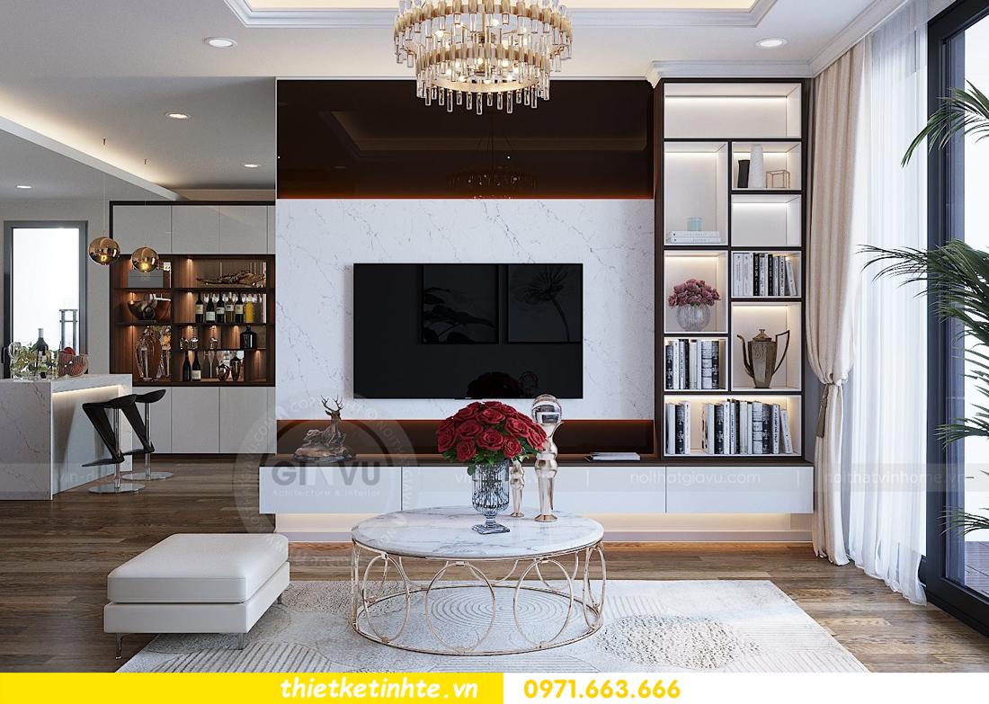 thiết kế thi công nội thất chung cư Gardenia tòa A2 căn 0903 View 7