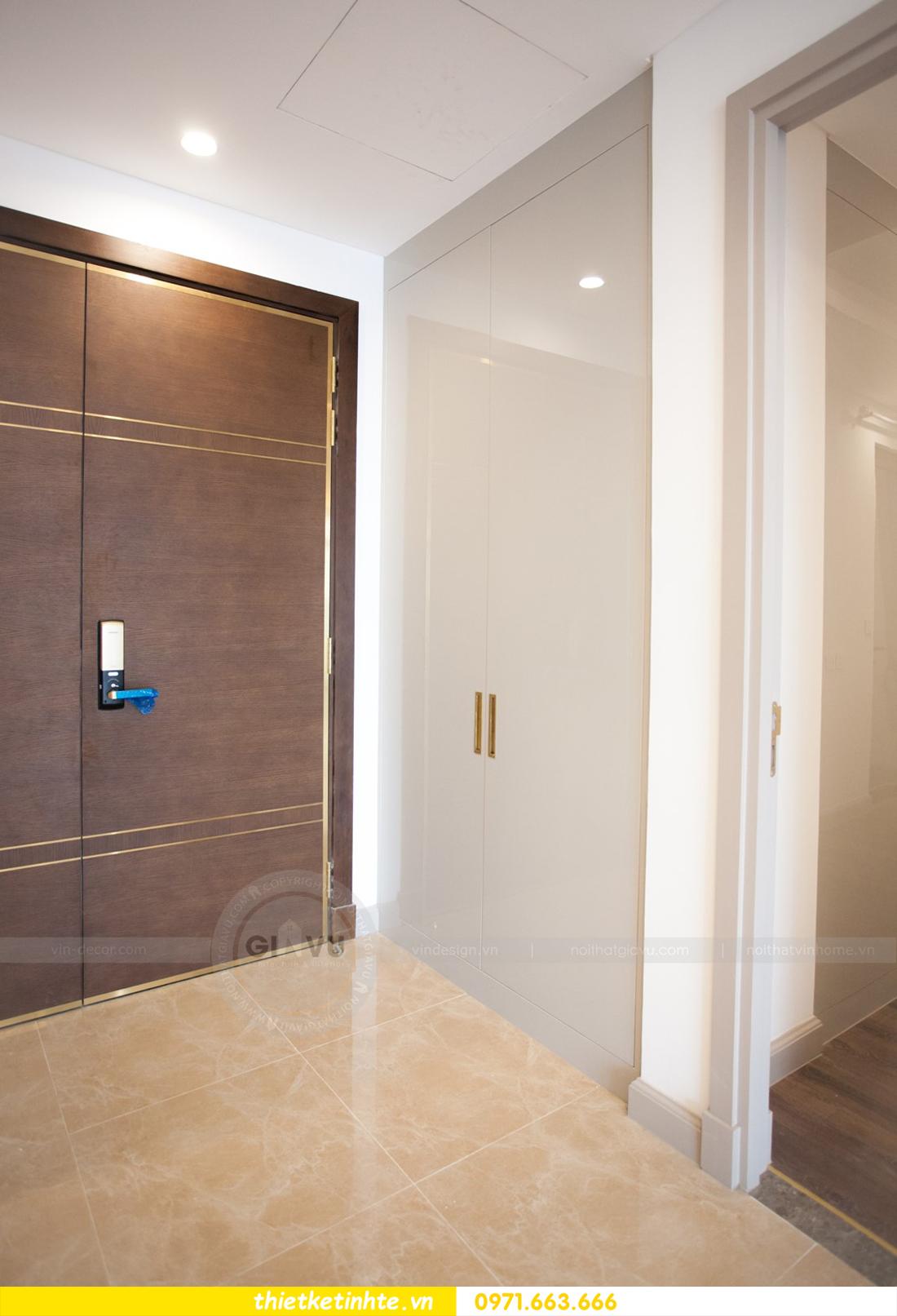 thi công nội thất chung cư trọn gói căn hộ 1105 tòa S2 69B Thụy Khuê