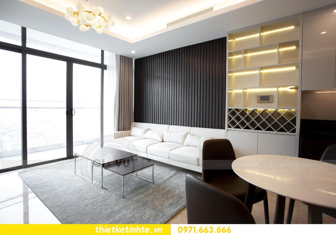 thi công nội thất chung cư trọn gói căn hộ 1105 tòa S2 69B Thụy Khuê 03