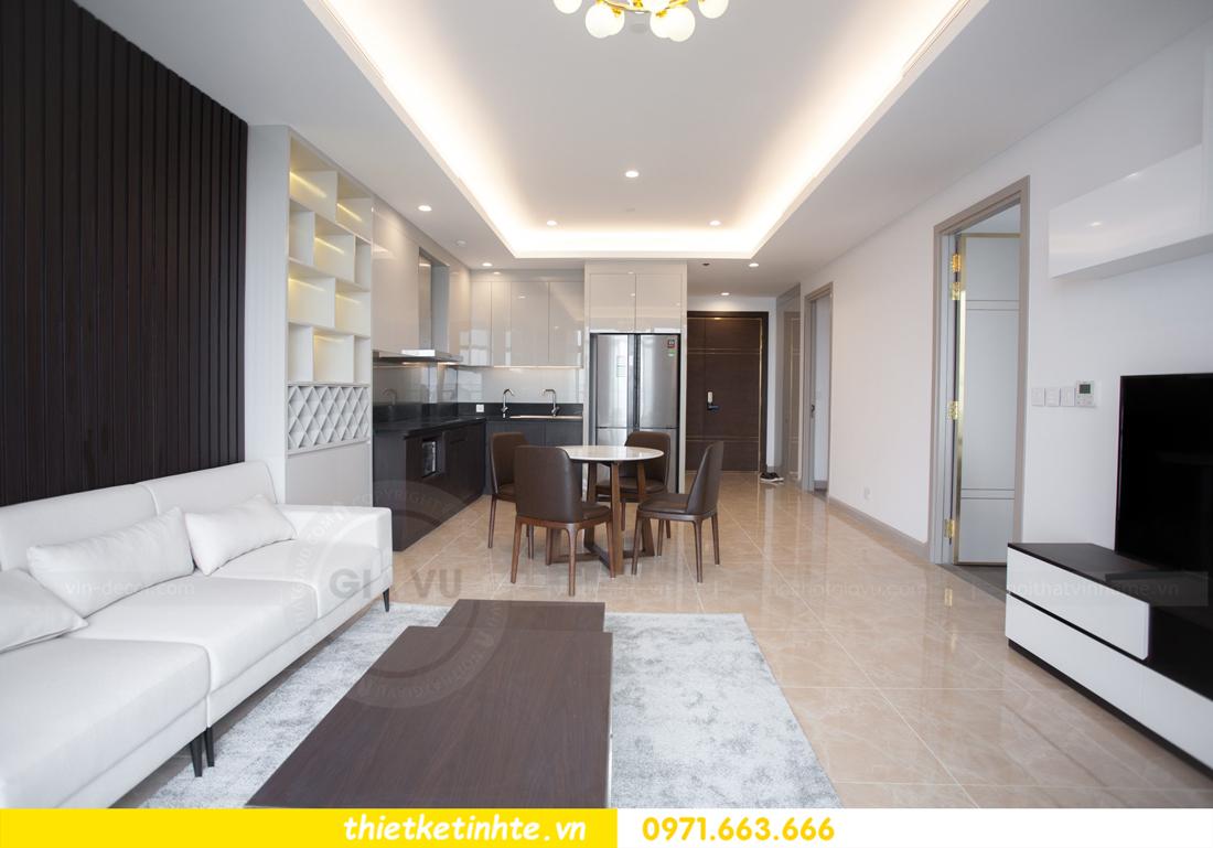 thi công nội thất chung cư trọn gói căn hộ 1105 tòa S2 69B Thụy Khuê 04