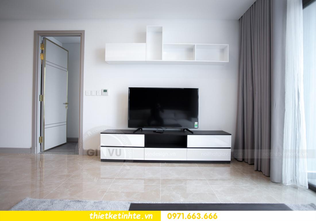 thi công nội thất chung cư trọn gói căn hộ 1105 tòa S2 69B Thụy Khuê 05