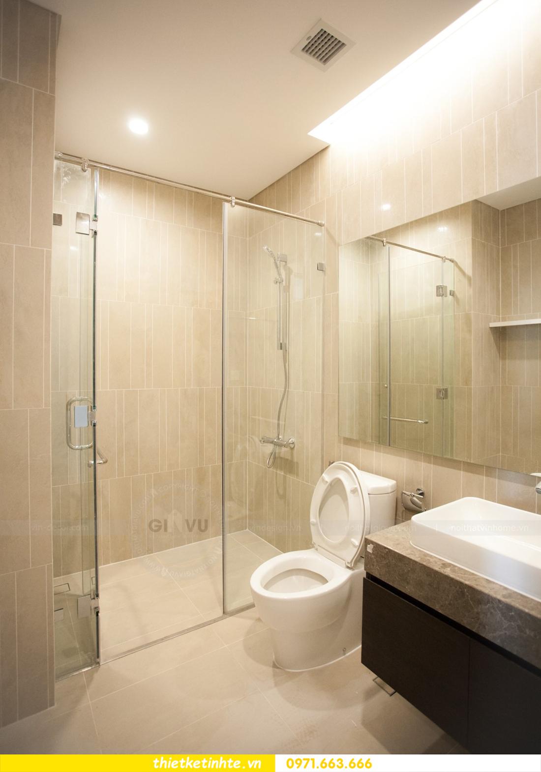 thi công nội thất chung cư trọn gói căn hộ 1105 tòa S2 69B Thụy Khuê 09