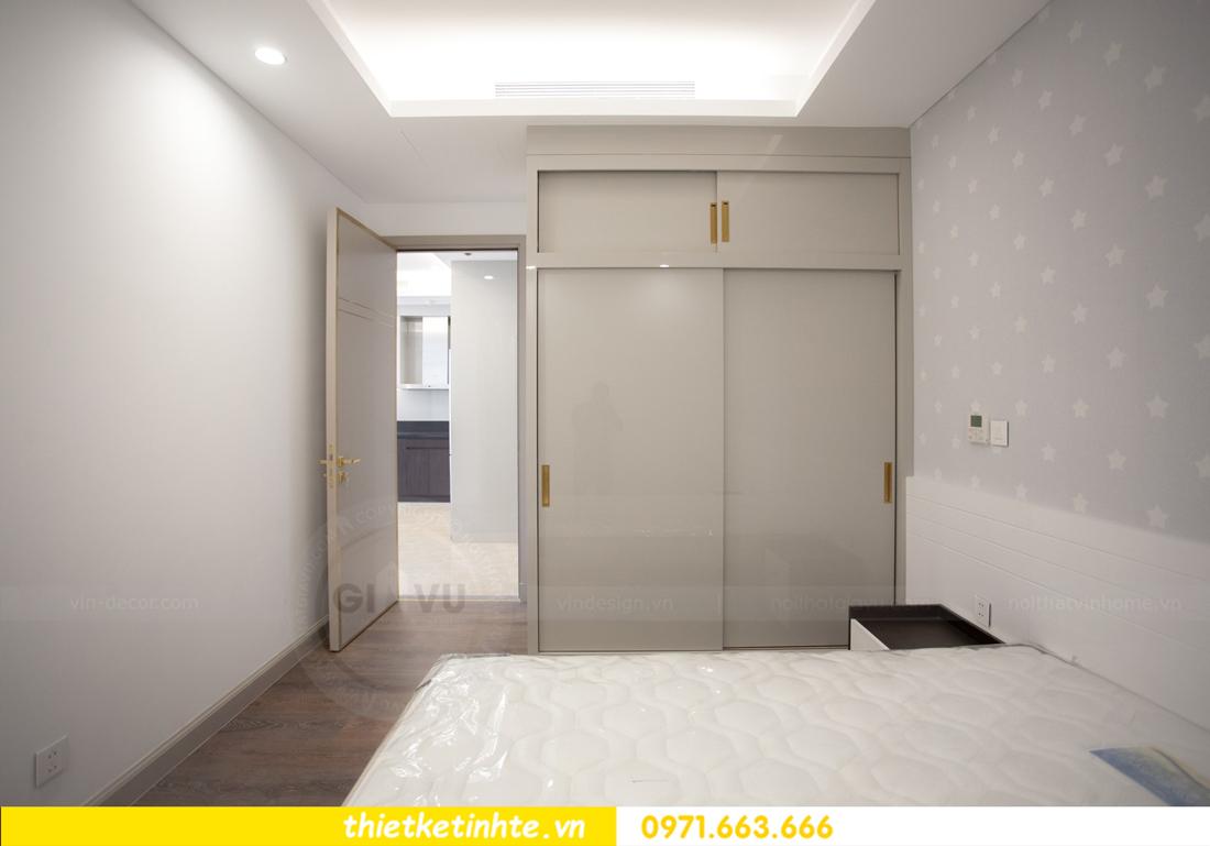 thi công nội thất chung cư trọn gói căn hộ 1105 tòa S2 69B Thụy Khuê 11