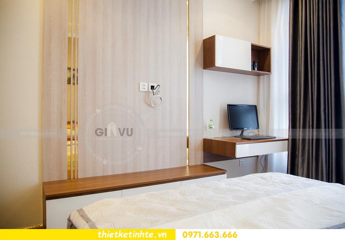 thiết kế hoàn thiện nội thất chung cư Park Hill 2 căn hộ 16 anh Thắng 19