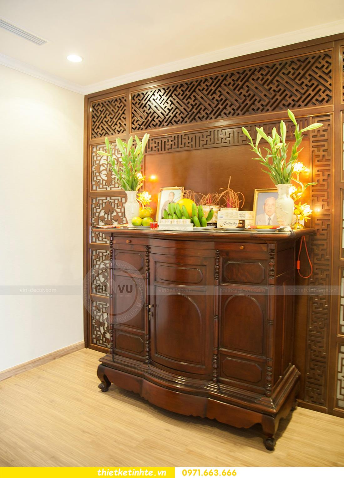 thiết kế hoàn thiện nội thất chung cư Park Hill 2 căn hộ 16 anh Thắng 20