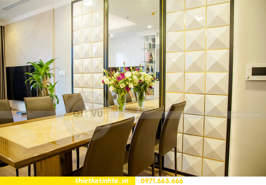 thiết kế hoàn thiện nội thất chung cư Park Hill 2 căn hộ 16 anh Thắng 03