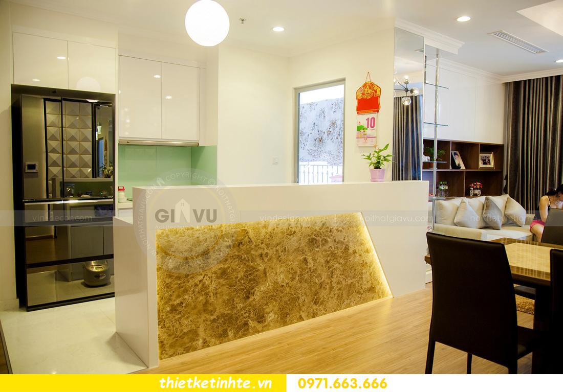 thiết kế hoàn thiện nội thất chung cư Park Hill 2 căn hộ 16 anh Thắng 05