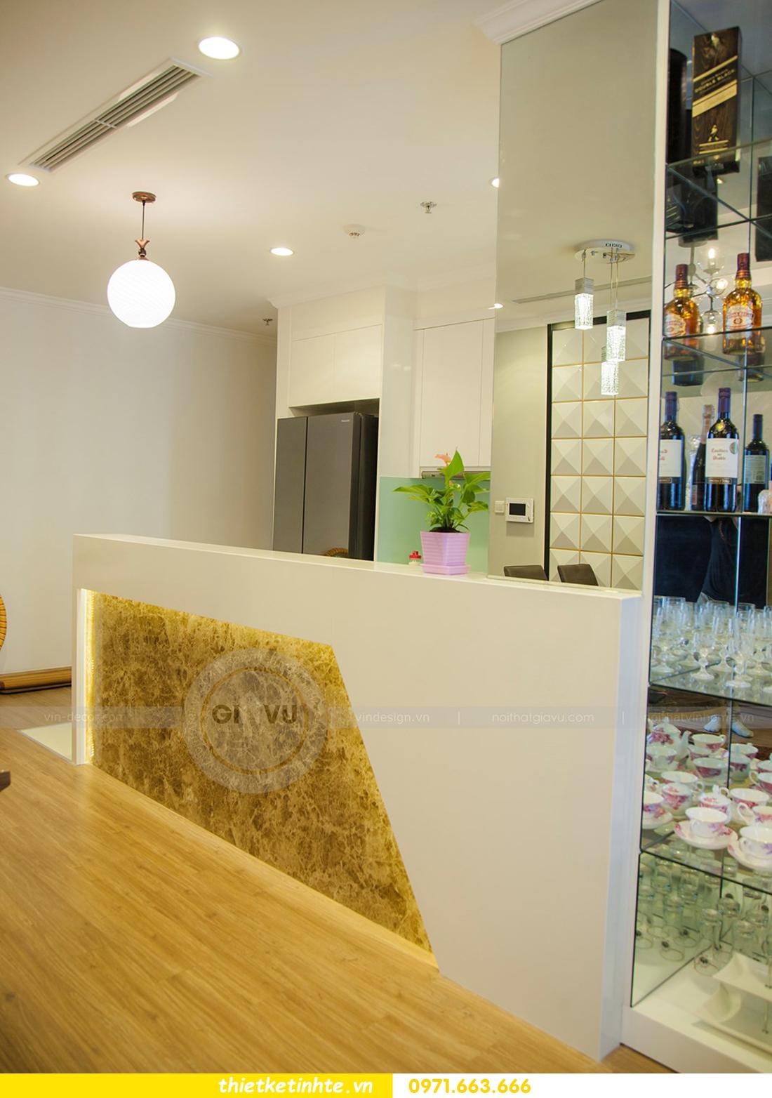 thiết kế hoàn thiện nội thất chung cư Park Hill 2 căn hộ 16 anh Thắng 06