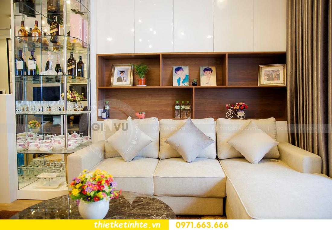 thiết kế hoàn thiện nội thất chung cư Park Hill 2 căn hộ 16 anh Thắng 07