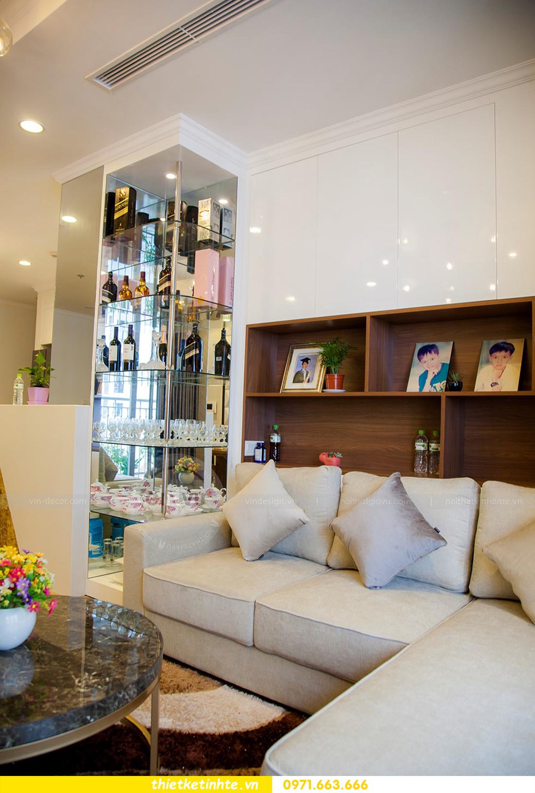 thiết kế hoàn thiện nội thất chung cư Park Hill 2 căn hộ 16 anh Thắng 08