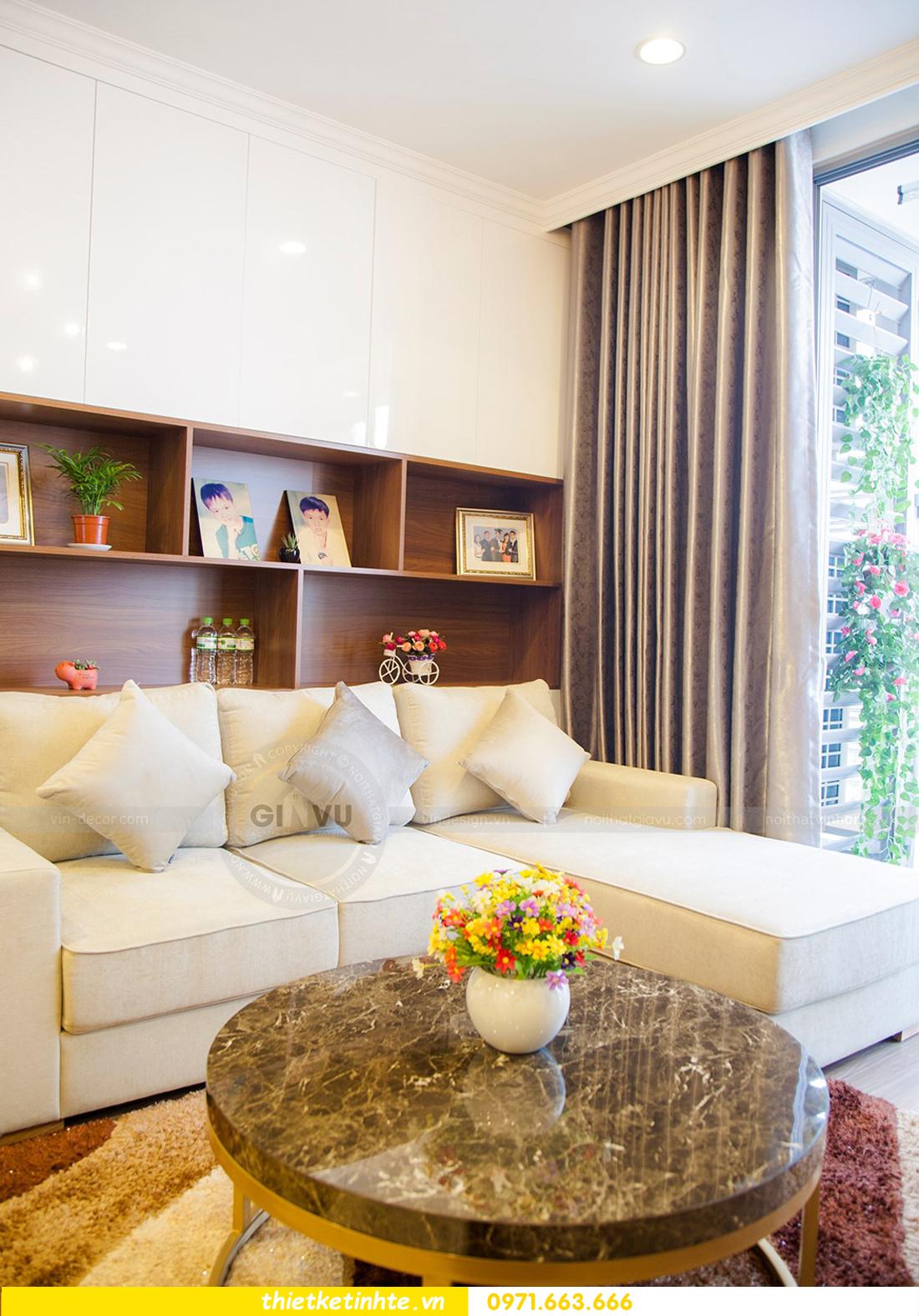 thiết kế hoàn thiện nội thất chung cư Park Hill 2 căn hộ 16 anh Thắng 09