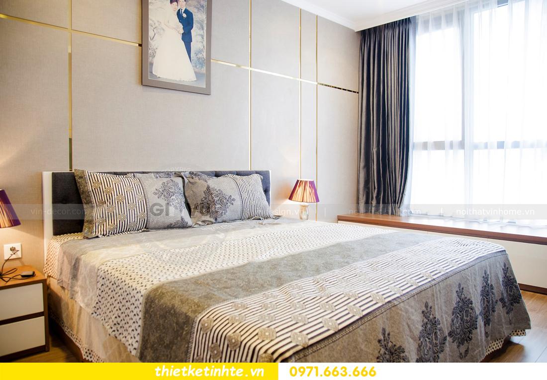 thiết kế hoàn thiện nội thất chung cư Park Hill 2 căn hộ 16 anh Thắng 11