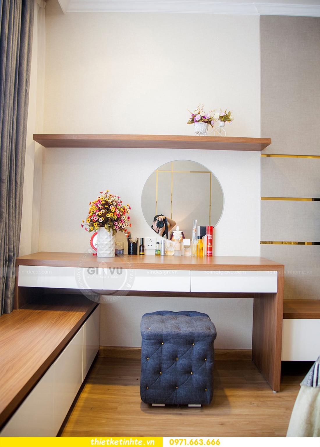 thiết kế hoàn thiện nội thất chung cư Park Hill 2 căn hộ 16 anh Thắng 13
