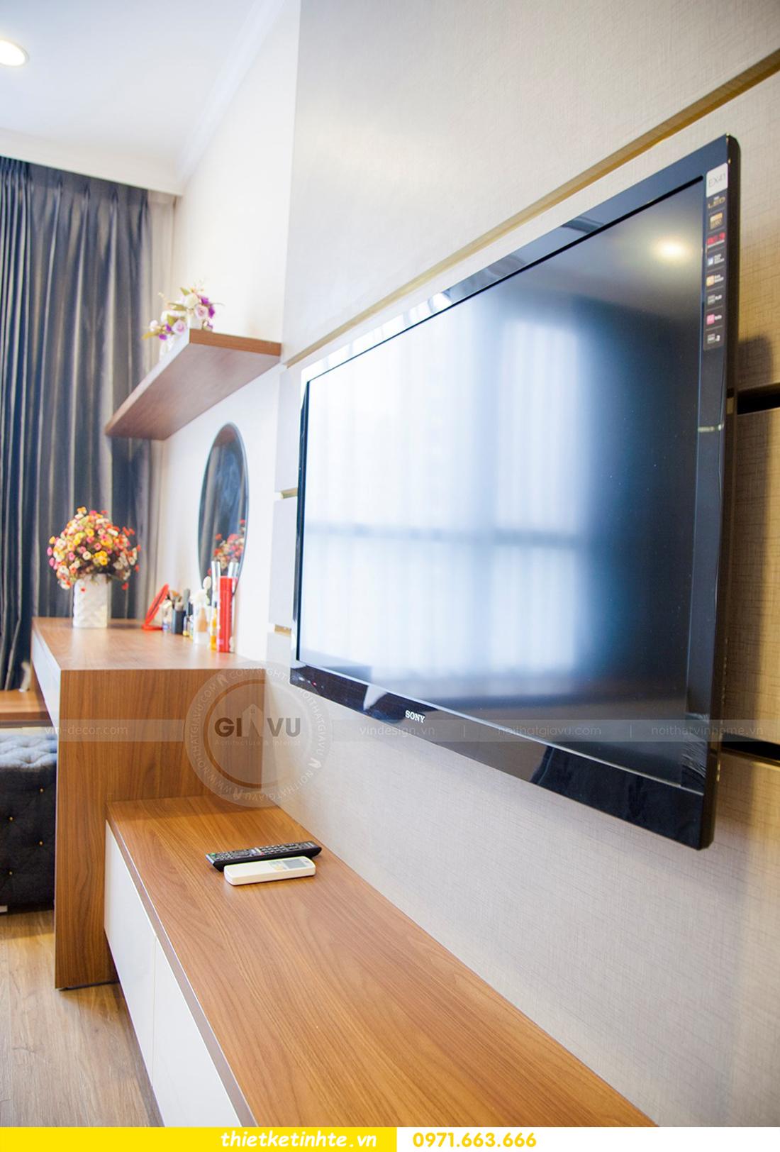 thiết kế hoàn thiện nội thất chung cư Park Hill 2 căn hộ 16 anh Thắng 14