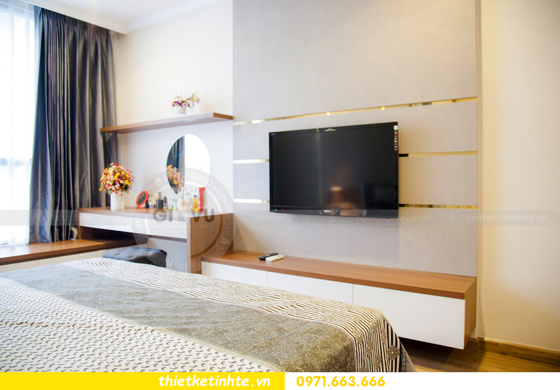 thiết kế hoàn thiện nội thất chung cư Park Hill 2 căn hộ 16 anh Thắng 15