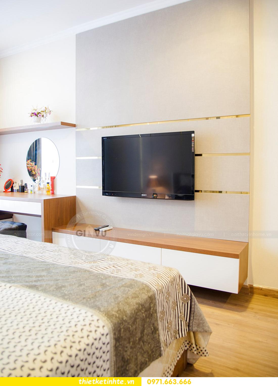 thiết kế hoàn thiện nội thất chung cư Park Hill 2 căn hộ 16 anh Thắng 16