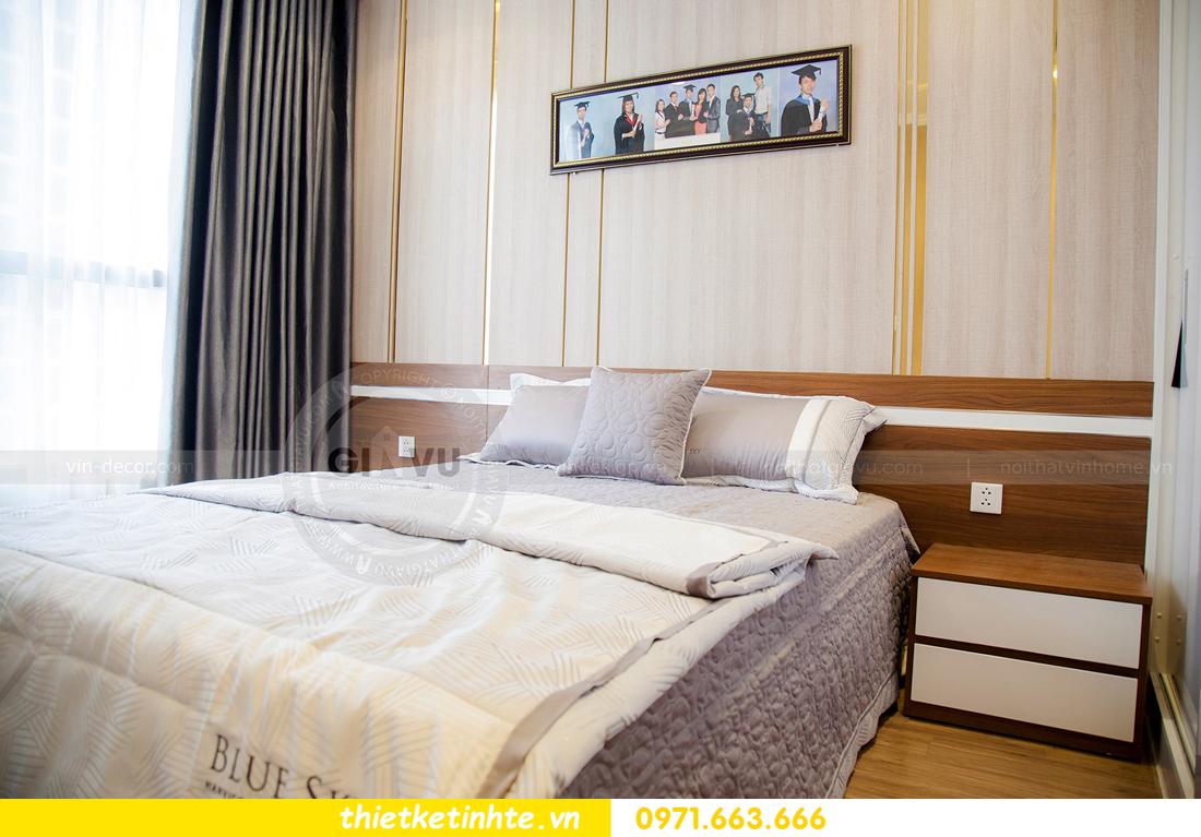 thiết kế hoàn thiện nội thất chung cư Park Hill 2 căn hộ 16 anh Thắng 17