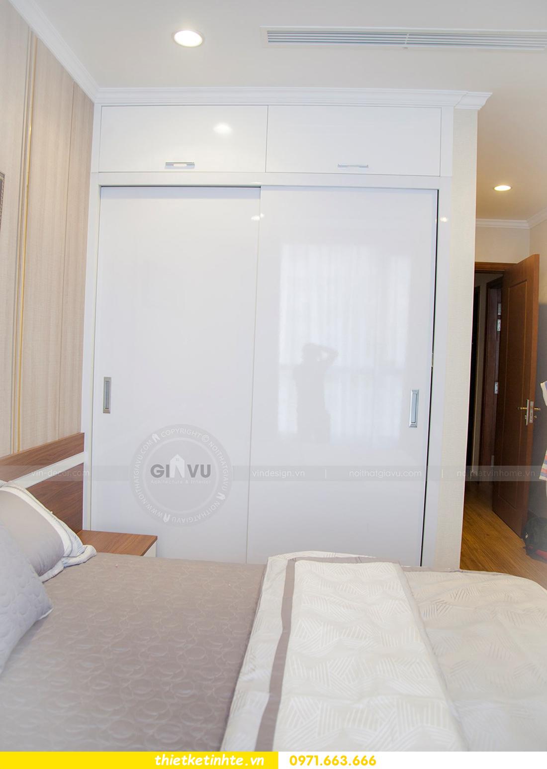 thiết kế hoàn thiện nội thất chung cư Park Hill 2 căn hộ 16 anh Thắng 18
