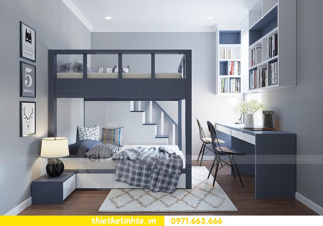 thiết kế nội thất tòa M3 căn hộ 07 Vinhomes Metropolis nhà chị Phương 09