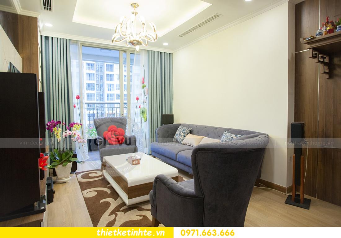 hoàn thiện nội thất căn hộ Vinhomes Gardenia tòa A2 căn 03 anh Hưởng 07