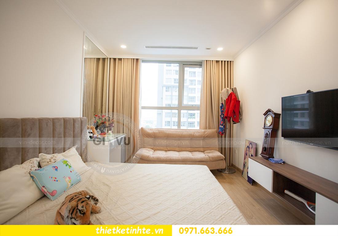 hoàn thiện nội thất căn hộ Vinhomes Gardenia tòa A2 căn 03 anh Hưởng 10