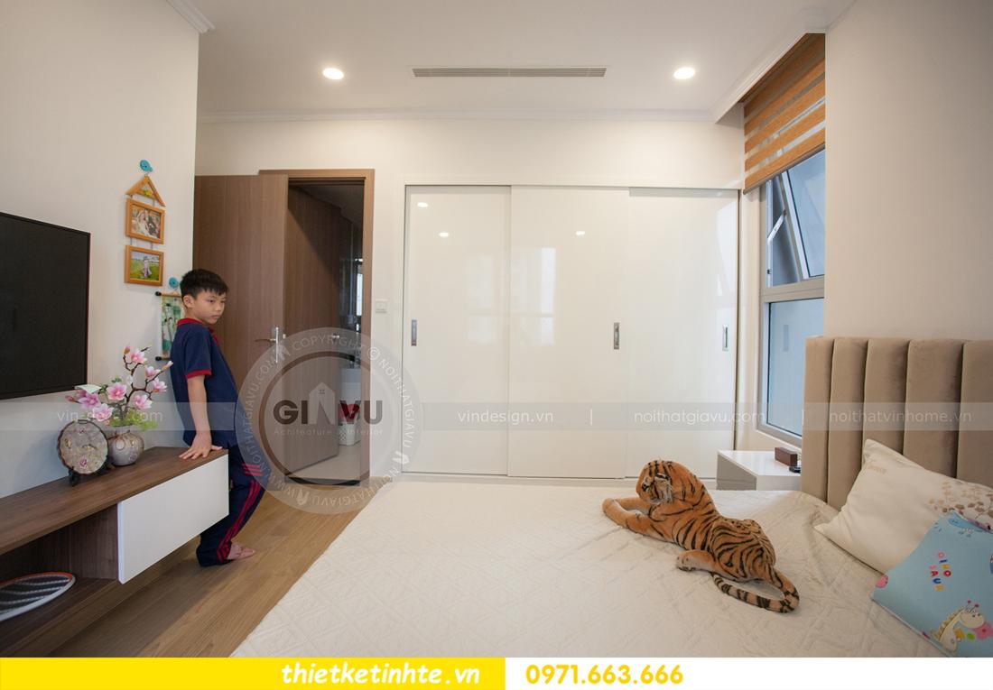 hoàn thiện nội thất căn hộ Vinhomes Gardenia tòa A2 căn 03 anh Hưởng 11