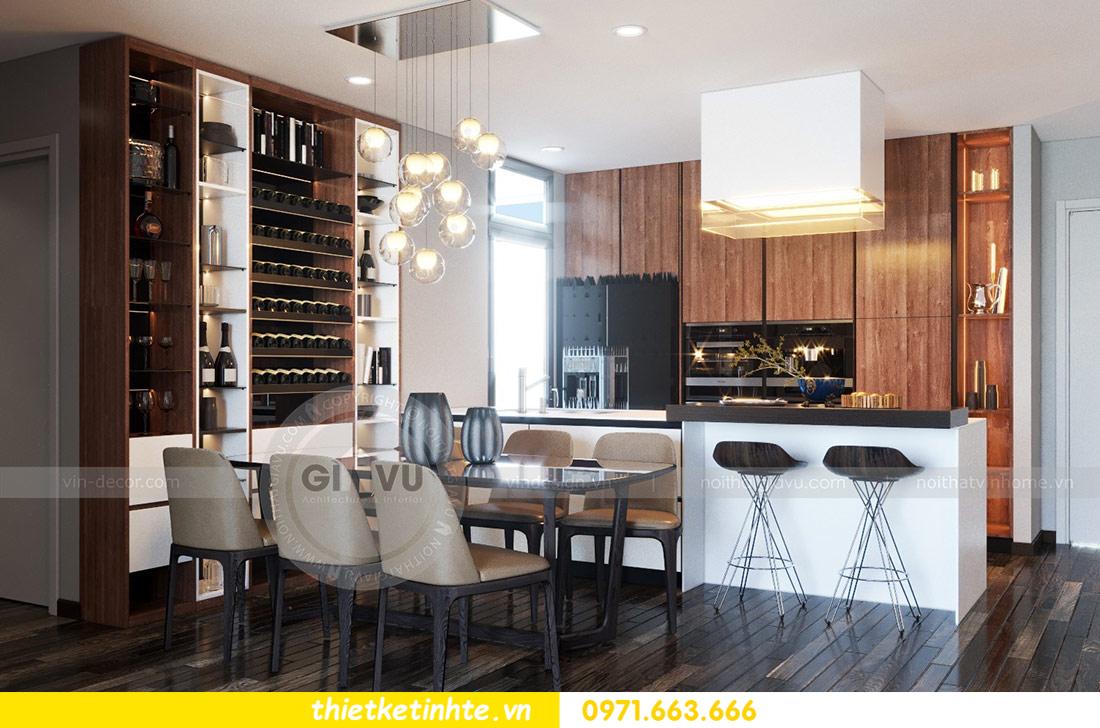 thiết kế nội thất căn hộ Vinhomes Skylake tòa S2 căn 06 nhà anh Nam 01