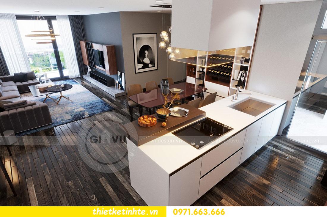 thiết kế nội thất căn hộ Vinhomes Skylake tòa S2 căn 06 nhà anh Nam 02