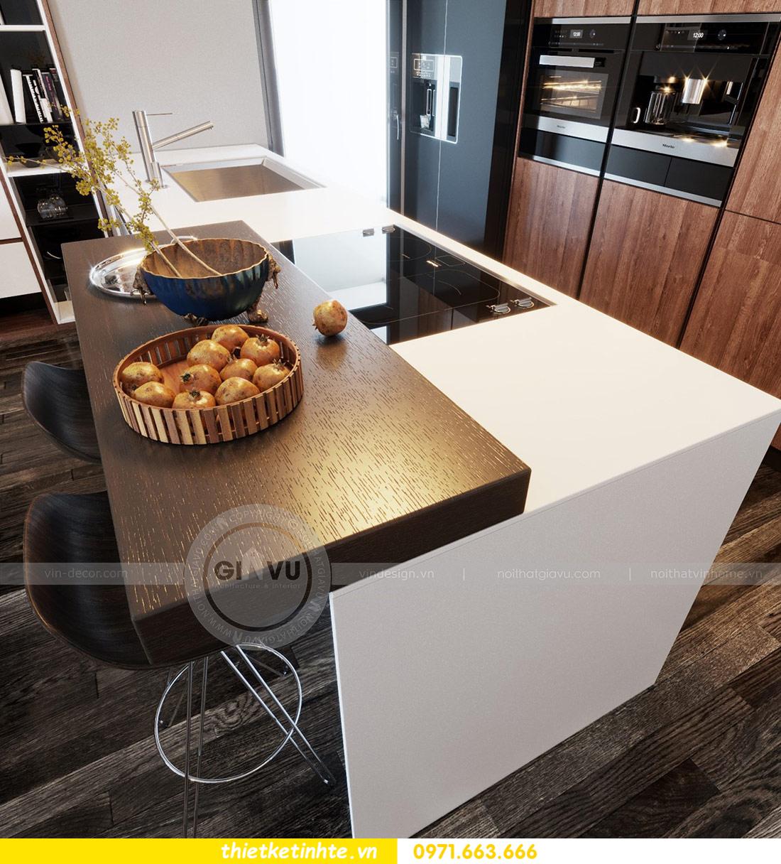 thiết kế nội thất căn hộ Vinhomes Skylake tòa S2 căn 06 nhà anh Nam 03
