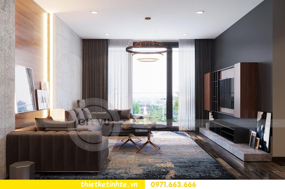 thiết kế nội thất căn hộ Vinhomes Skylake tòa S2 căn 06 nhà anh Nam 04