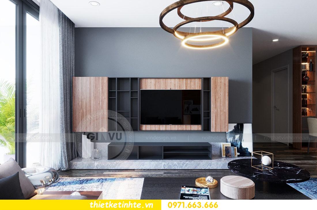 thiết kế nội thất căn hộ Vinhomes Skylake tòa S2 căn 06 nhà anh Nam 05