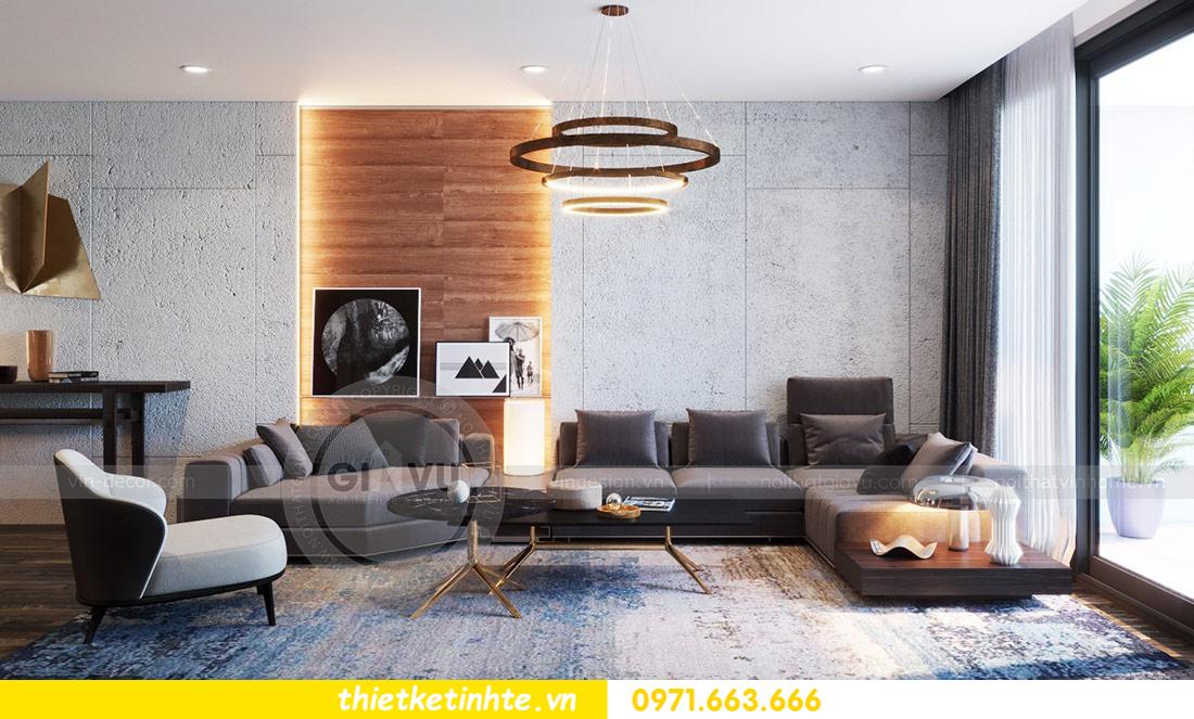 thiết kế nội thất căn hộ Vinhomes Skylake tòa S2 căn 06 nhà anh Nam 06
