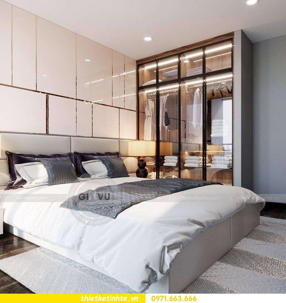 thiết kế nội thất căn hộ Vinhomes Skylake tòa S2 căn 06 nhà anh Nam 08