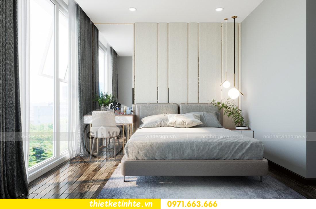 thiết kế nội thất căn hộ Vinhomes Skylake tòa S2 căn 06 nhà anh Nam 09