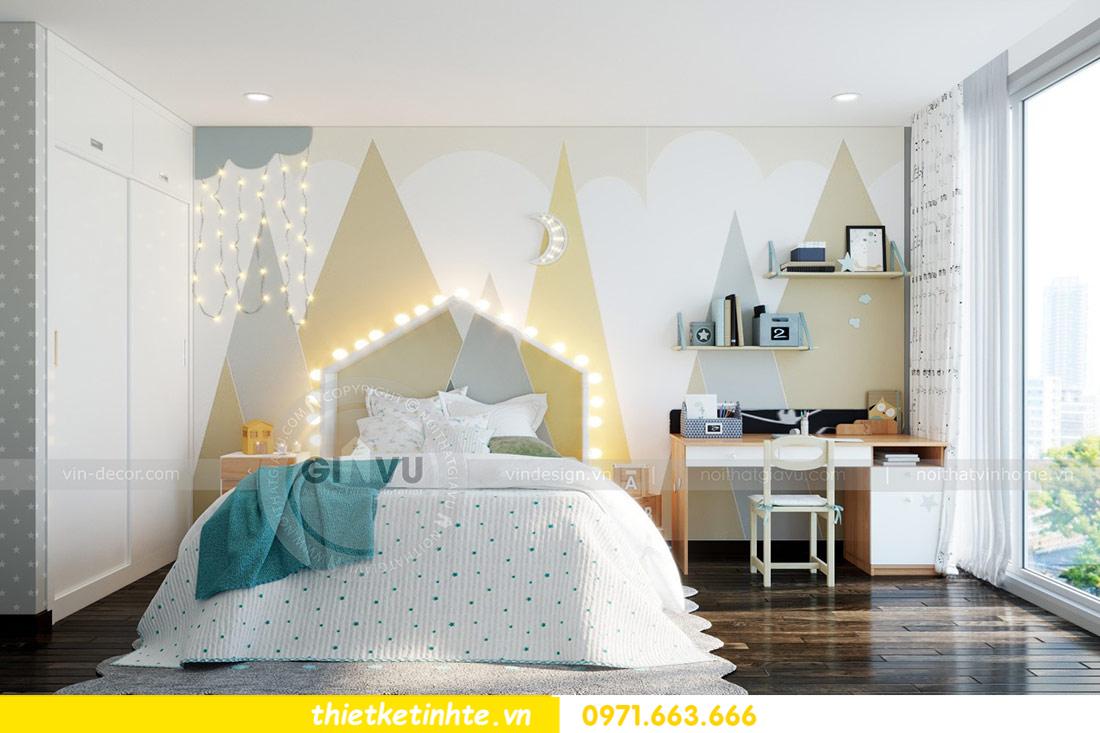 thiết kế nội thất căn hộ Vinhomes Skylake tòa S2 căn 06 nhà anh Nam 11